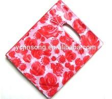 2014 hot selling plastic shopping gift bag