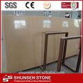 Sintético série amarelo engineered stone lajes de quartzo artificial table top/banheiro azulejo/pia