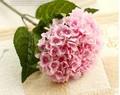 2014 barato artificial hortensia flor, Buena calidad artificial sola Hydrangea para venta, Flor artificial