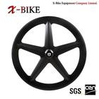 2014 XBIKE topmost 700c carbon fiber 5 spoke wheelset