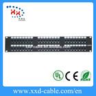"""19"""" 2U 48 port UTP Cat6 Patch Panel 110 Dual IDC"""