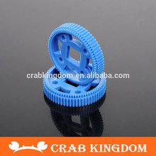 DIY plastic gear motor gear remote control car MXL gear 64T square hole gear