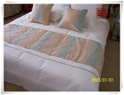 wholesale bed runner hotel linen/textile