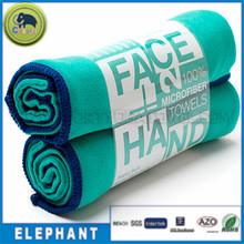 Colorful print custom brand design Microfiber chamois towel outdoor towel picnic towel