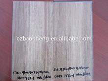waterproof colorful pvc wood floor click