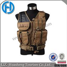 Quick release airsoft tactical vest