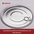 china wholesale factory big size runden 502 leicht öffnen blechdose Deckel mit saferim für trockene ladung lebensmittelverpackungen
