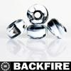Backfire Blank Skate Board Wheels Black Size 52mm
