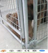 portable folding metal mesh dog cage