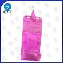 2014 women toiletries bag makeup kit hanging cosmetic travel bag