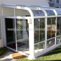 Foshan Wanjia aluminum glass sunroom