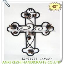 LC-76253 antique metal decorative wall cross