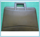 customized leather presentation folders / stylish leather fancy file folders / decorative legal size file folders