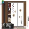 Beautiful glass door for art decoration