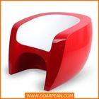 fiberglass low armchair