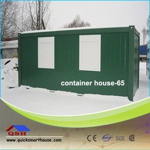 Steel Frame Box House/container House Covered By Sandwich Panels