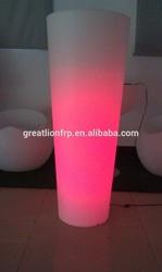Rotational Molding Plastic LED flower pot
