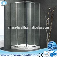 glass shower door stop