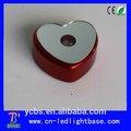 plástico alimentado por bateria de casamento heart shaped cake stands