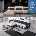 china baratos pequeno canto em forma de l sofá de couro conjunto preço na índia