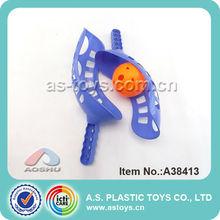 Plástico tiro catch juego de pelota juego