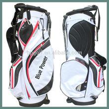 white fashion golf forged bag