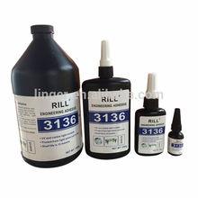 UV Glue for glass.metall,plastic,crystal