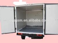 Enclosed cargo three wheel motorcycle( frozen cargo box )
