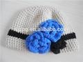 Design de moda crochet beret chapéus para meninas