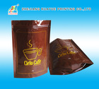 Durable Small Coffee Bags, Matte White Coffee Bags, Coffee Packaging Plastic Bag