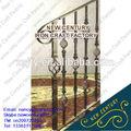 Decorativa interior barandilla de hierro forjado/al aire libre de hierro forjado pasamanos de la escalera/lowes escalera de hierro forjado barandilla de la mano