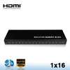 hdmi rca splitter 1x16 support 3D 1080P HDTV with factory price
