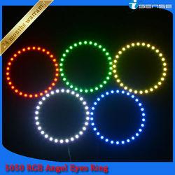 Auto Parts,2x 120mm 33smd 5050 LED Car Angel Eye Kit(9-15v)