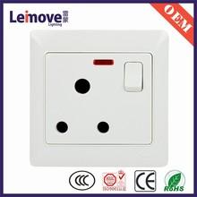 Elegant apperance 15 amp switched socket