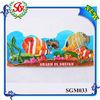 SGM033 Sharm El Sheikh Fish Fridge Magnet Printing