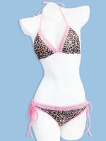 hot strapless cupless bikini