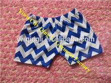 Hot Sale! Cheap Baby Chevron Shorts Factory Direct Sale 100% Cotton Chevron Shorts for Kids