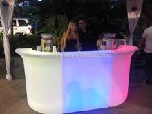 led party furniture / led mobile bar counter