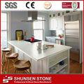 Venta caliente blanco de piedra de cuarzo de mesa SQC027