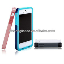 Factory wholesale color hybrid tpu phone case for iphone 5, assorted color case for iphone