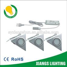 Steel Triangle Set 1.8W 1X 3 sets DC 12V LED CABINET