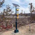 Solar/ac220v anti inseto/killer pragas/controle/desaparecer da lâmpada, usado no pomar de frutas, apple, pêra, kiwi, ameixa, cherry