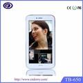 6.5 polegadas dual sim card bluetooth grande china tela do telefone móvel
