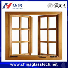 Soundproof PVC Profile Double Glass Windows Price