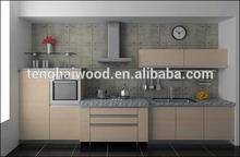 Wood Unit Modern Kitchen Cabinet