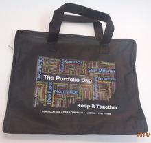Cheap reusable hand carry conference PP non woven portfolio bag