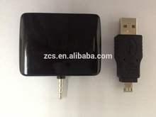 smart phone NFC card reader with USB&headphone jack interface