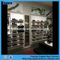 Boutique en ligne de chaussures/décoration magasin de chaussures/chine chaussures présentoir magasin