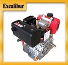 2014 New Famous Brand Excalibur Portable Single Cylinder 4-Stroke 7HP 296cc Diesel Engine For Sale S178FS(E)