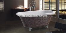 (7040) copper bathtub classic mosaic bath tubs